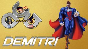 Demitri in DCCapMar Mugen Game by anubis55
