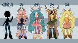 Longhaired Adopts [CLOSED] by Miyanko