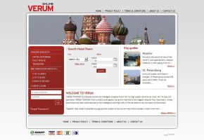 verum web site by feartox