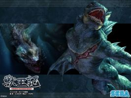 Altered Beast: Merman by Lycans57