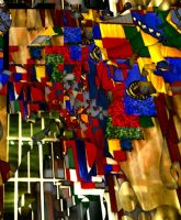 Cubist Court of Nations by Urceola