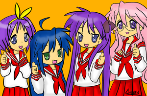Lucky Star Color by Kirvaja
