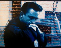 Johnny Cash - Flesh and Blood by bobbyzeik