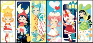 Bookmarks for the holidays by blackBanshee80