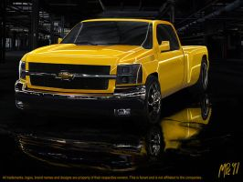 Chevrolet Silverado by nordic-man