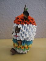 3D Origami - Pandapple - 2 by Mixowelle