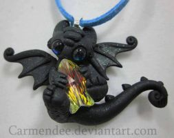 little crystal fish Toothless nightfury by carmendee