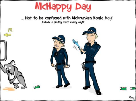McHappy Day 2013 by Sopecartoons