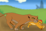 Kion and Kiara by SahGlam29