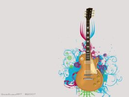 Vector Guitar by gabguevara07