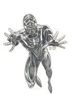 Daily Sketches Miles Morales by fedde
