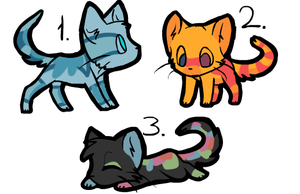 Quick Kitties by ThePirateDragon