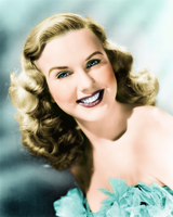 Deanna Durbin colorization 1 by onlyalive8