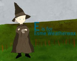 E is for Esme Weatherwax by whosname