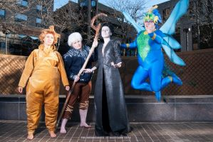 Sandman, Jack Frost, Tooth Fairy and Pitch! by Toriachan