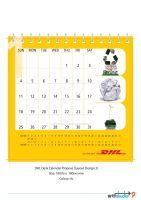 DHL DeskCal 09 Propose Layout2 by phyoeminthaw
