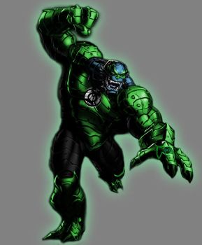Green Lantern A-Bomb by Lord-Lycan