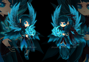 OfferToAdopt23(CLOSED)WaterShatteredWings by Rofeal