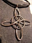 Witchs Knot Necklace by MoonLitCreations