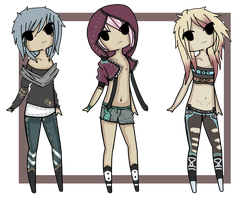 adoptables ::CLOSED:: by Voodoo-Elf