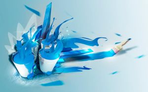 Color and tools for painting by folkensioner