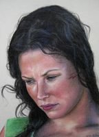 """Evangeline Lilly as """"Kate"""" in LOST 2 by LMan-Artwork"""