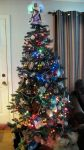 my Christmas tree by chrisravensar