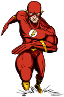 The Flash-Fastest Collab Alive by UltimeciaFFB
