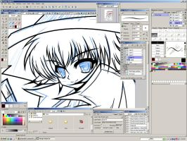 Manga Studio 4 EX - Screenshot by AmarAli