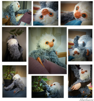 HAND-MADE Realistic poseable Sloth by Aberhavre