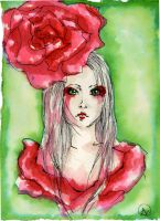 Rose Maiden by dyingrose24