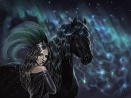 Northern Lights by Fable-Art