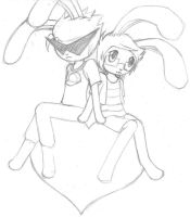 Dirk and Jake (bunnies) by 73RR1F13D-4M814NC3