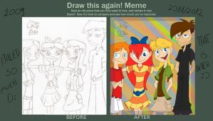 Draw this again meme by WhiteBAG