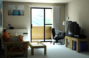 Virtual Living Room by nickdagamer