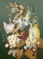 Falling Alice by Ecija