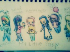 My Little Pony Human Version by Love4Music12