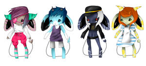 Demon Mouse Boy adopts by ThisLazyPanda