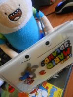 .: Finn- 3DS time! :. by Estefaniia-colacao