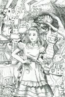 Alice by macawtopia