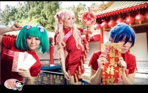 Macross Frontier : Chinese New Year Medley by thebakasaru