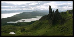 old man of storr by DasGloy