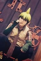 AnE Cosplay: Earthking Amaimon by MissSarawyn