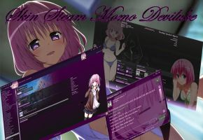 To love Ru (Momo Deviluke) Steam Skin by squallala1337