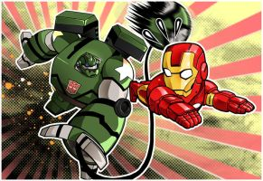 bulkhead vs ironman by m7781
