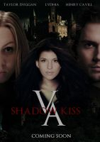 Vampire Acdemy Shadow Kiss movie poster by zvunche