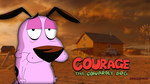 Courage The Cowardly Dog Wallpaper by ThatCraigFellow