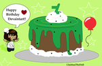 Happy Birthday Deviantart! by Clairbanthedoll