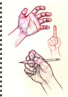 Hand sketches by emmshin