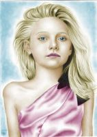 Dakota Fanning Colored by nikki13088